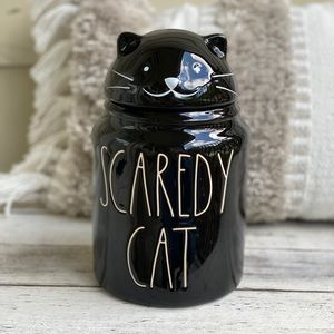 Rae Dunn Scaredy Cat Cannister